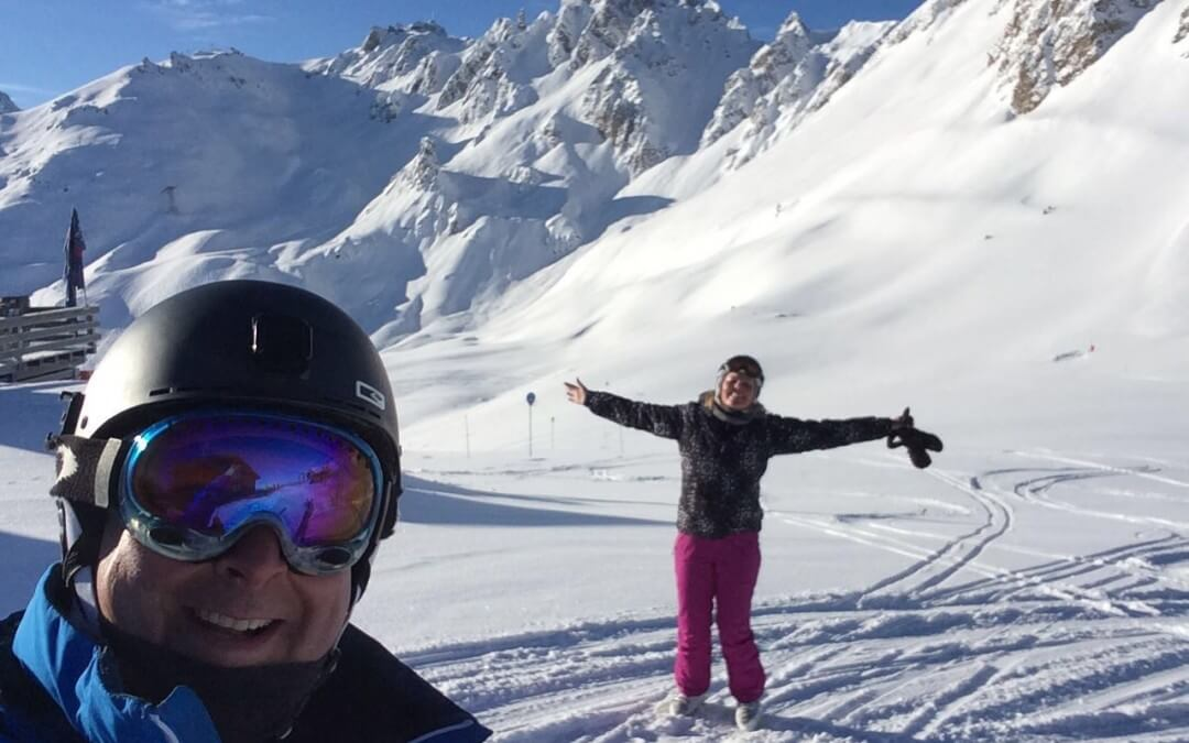 Courchevel 1850, thank you, we had a blast