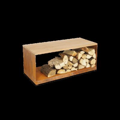 OFYR Wood Storage Bench