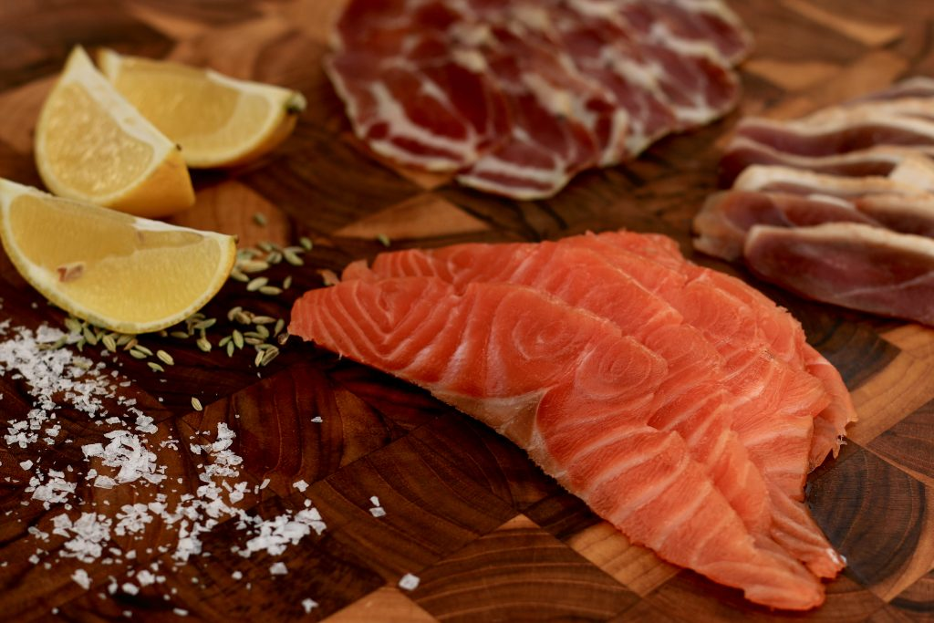 Home Curing - smoked salmon