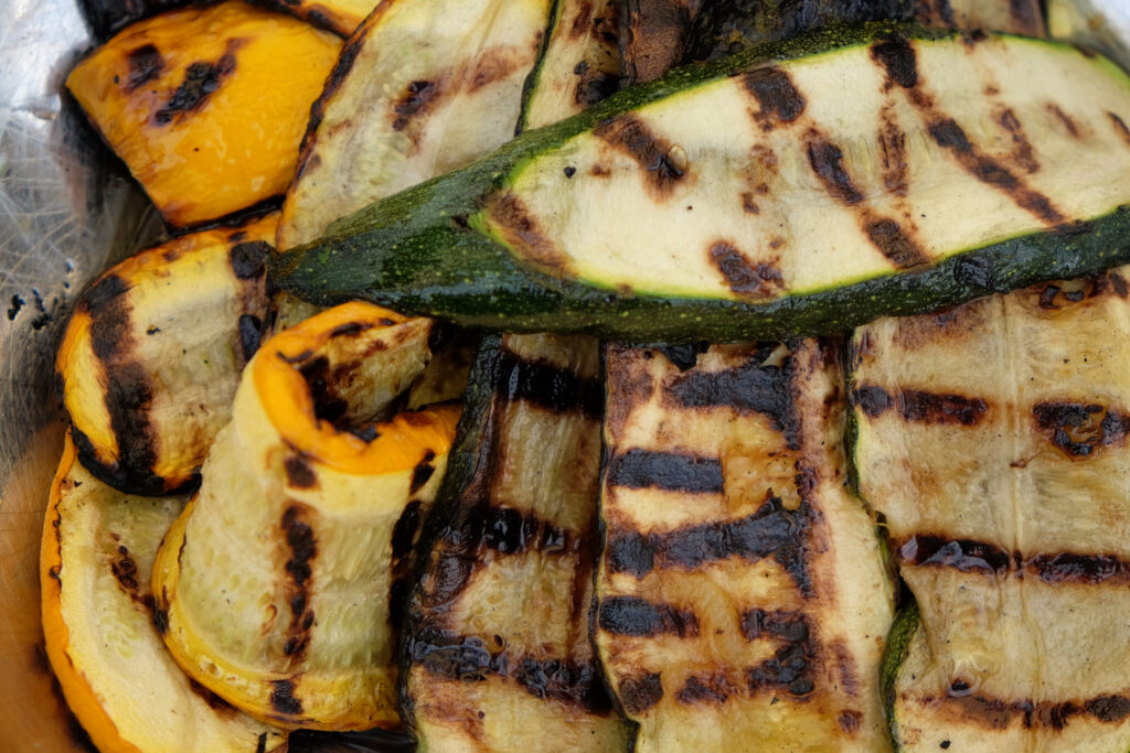 Courgette and Aubergine Salad