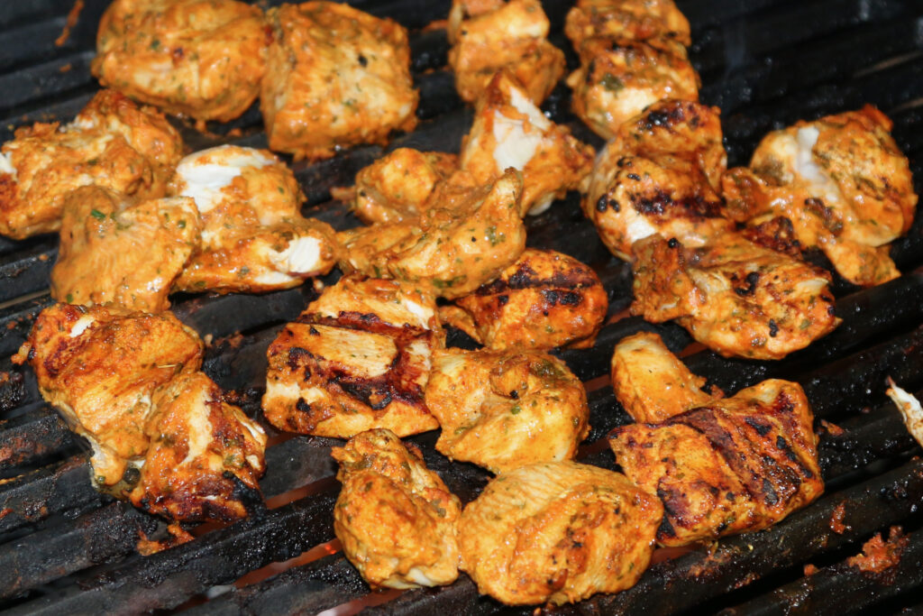 Parmjit's chicken tikka