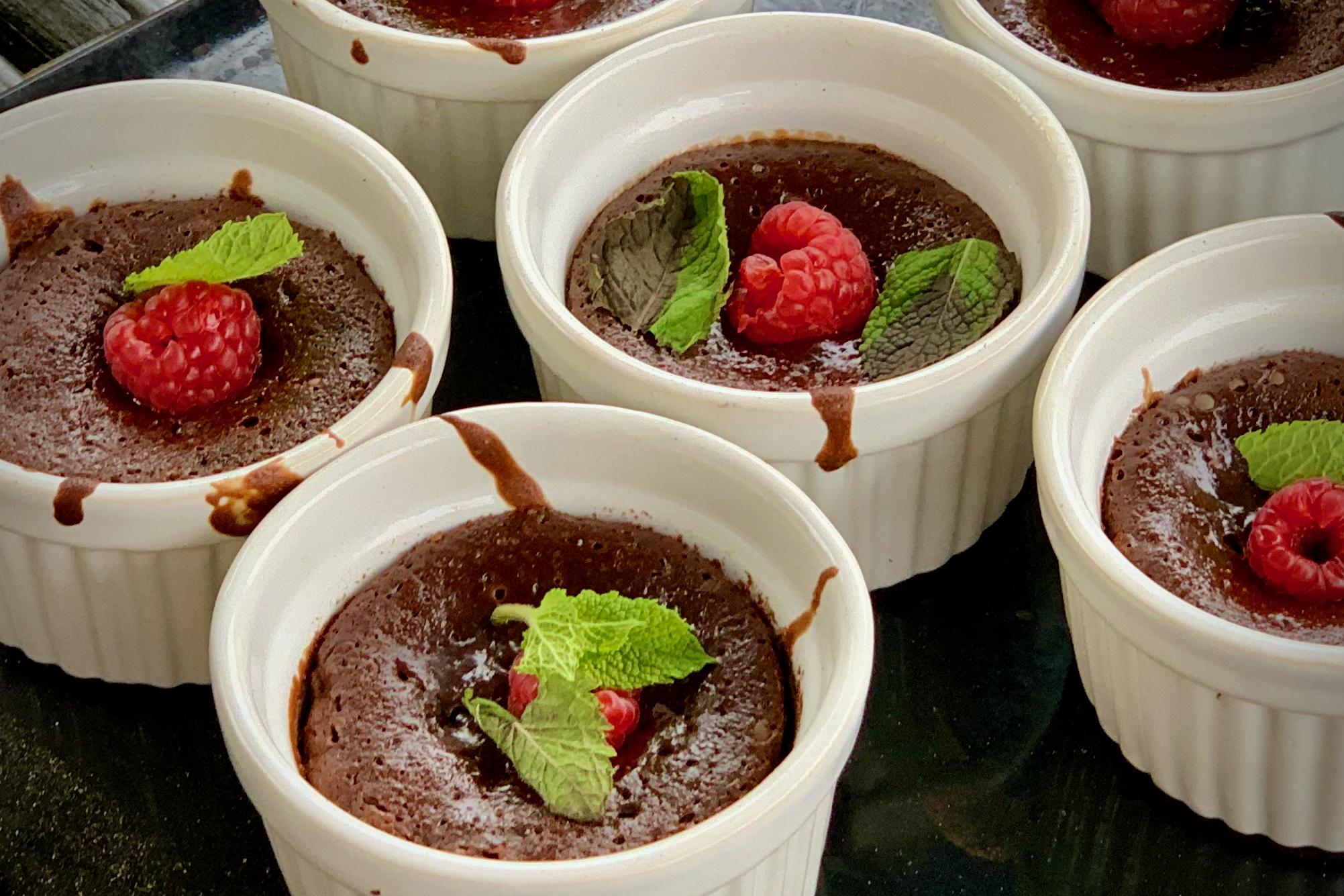 Gooey Chocolate Pudding
